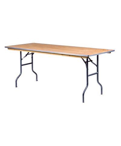 6ft rectangle banquet table – A Chair Affair