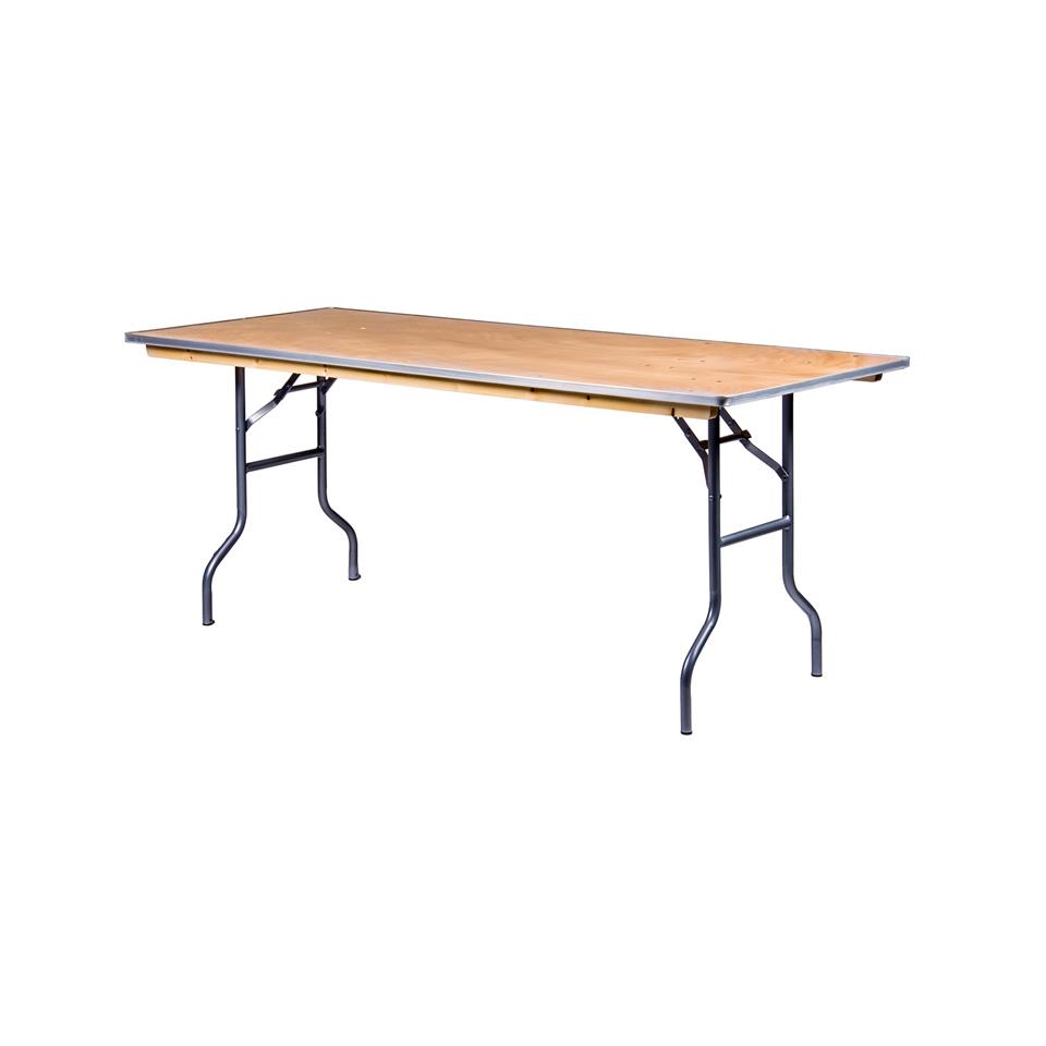 6 X30 Quot Rectangular Banquet Tables A Chair Affair Inc