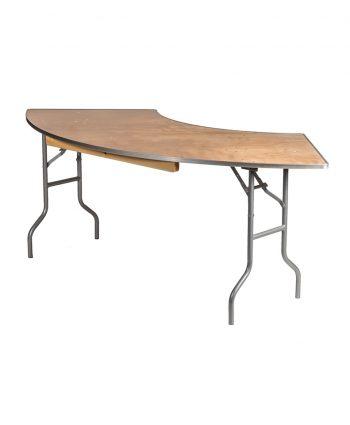 7 ft Serpentine Tables - A Chair Affair