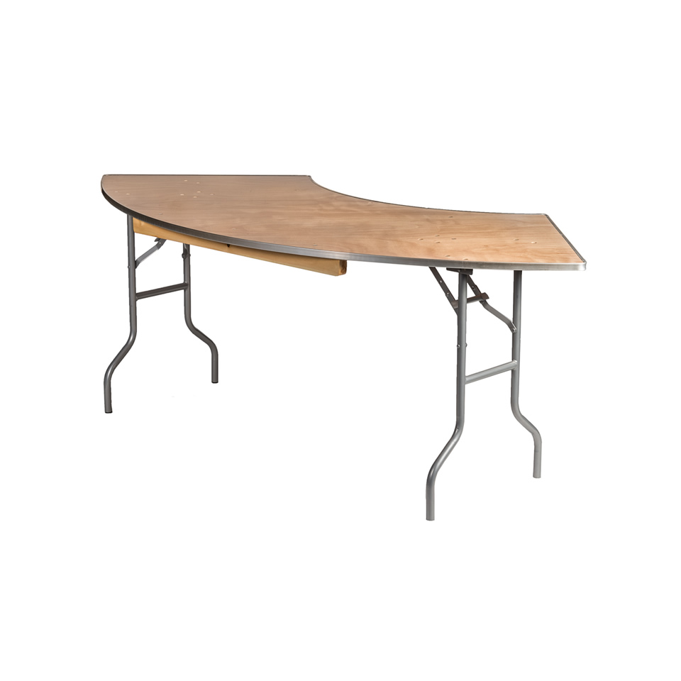 7' Serpentine Tables