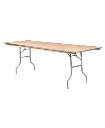 8ft x 30 rectangle banquet table - A Chair Affair