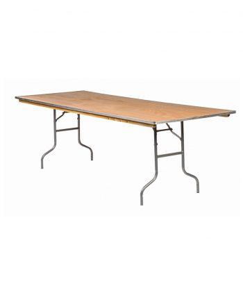 8ft x 36 rectangle banquet table - A Chair Affair