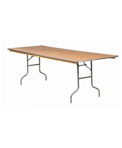 8ft x 36 rectangle banquet table – A Chair Affair