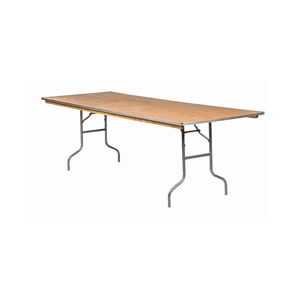 8 39 x36 39 rectangular banquet tables a chair affair inc for 10 foot folding table