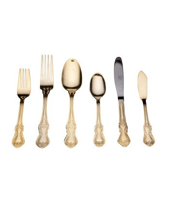 Baroque Gold Flatware - A Chair Affair