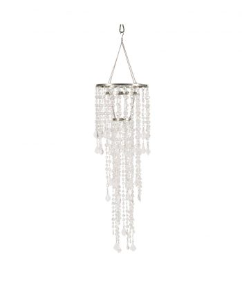Bling Crystal Chandelier Small Long - A Chair Affair