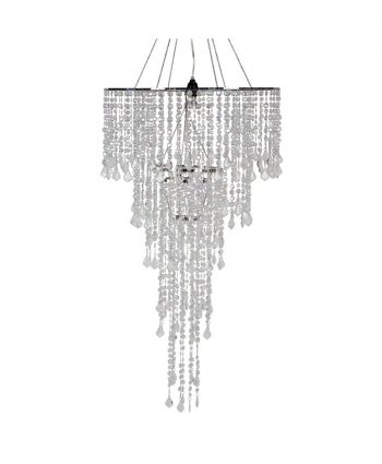 Bling Crystal Chandelier Two Tier - A Chair Affair
