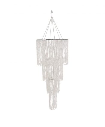 Bling Crystal Draped Chandelier Multi-Tiered - A Chair Affair
