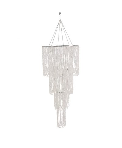 Bling Crystal Draped Chandelier Multi-Tiered  – A Chair Affair