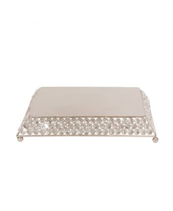 Bling Square Cake Stand - A Chair Affair