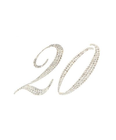 Bling Table Number – A Chair Affair