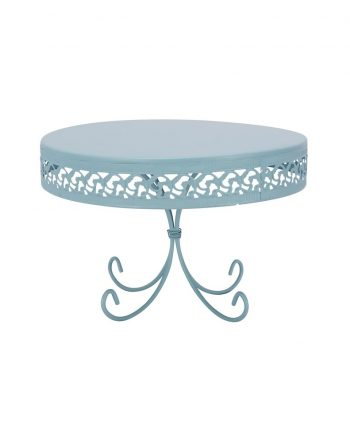 Blue Daisy Cake Stand - A Chair Affair