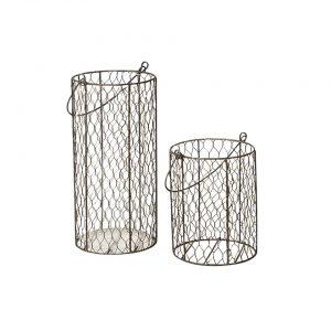Chicken Wire Vases - A Chair Affair