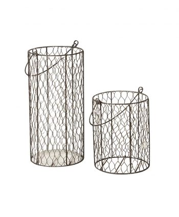 Chicken Wire Vases - A Chair Affair
