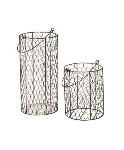 Chicken Wire Vases – A Chair Affair