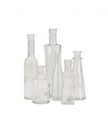 Clear Glass Vases - A Chair Affair