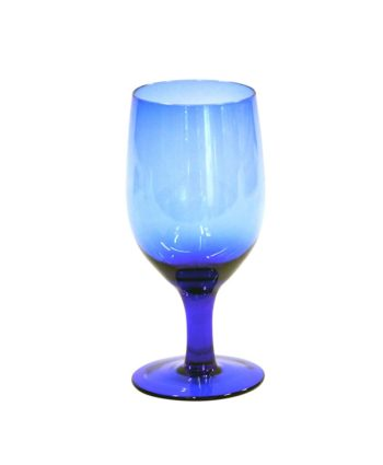 Cobalt Blue Goblet - A Chair Affair Rentals