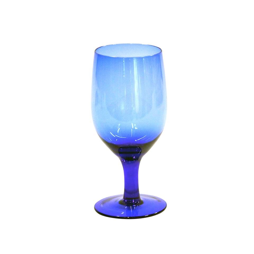 Cobalt Blue Goblet - A Chair Affair Rentals