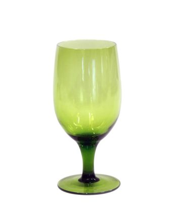 Emerald Green Goblet - A Chair Affair Rentals