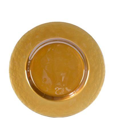 Gold Glass Charger – A Chair Affair Rentals
