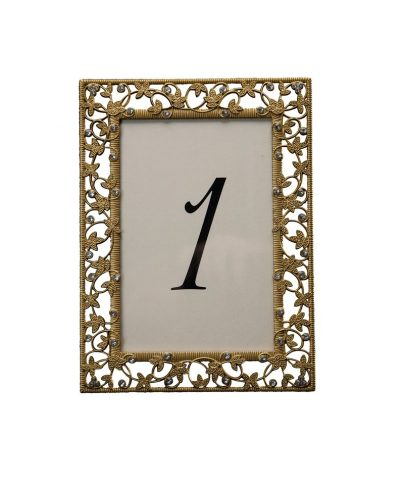 Gold Ivy Table Number – A Chair Affair