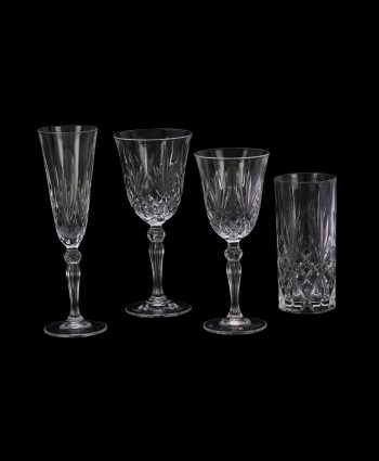 Grace Cut Glass Stemware