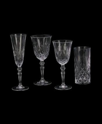 Grace Cut Glass Stemware
