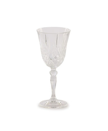 Grace Etched Red Wine Glass - A Chair Affair Rentals
