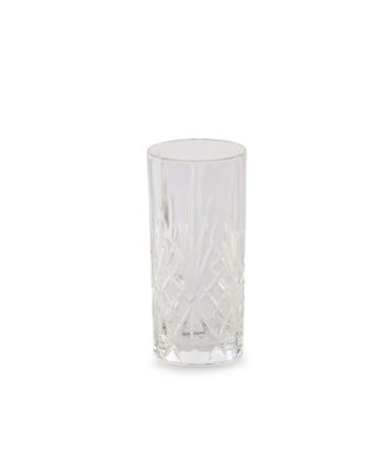 Grace Etched Water Glass - A Chair Affair Rentals