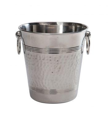 Hammered Ice Bucket - A Chair Affair