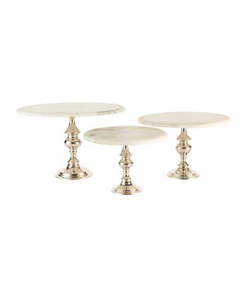 Marble Cake Stands - A Chair Affair (1)