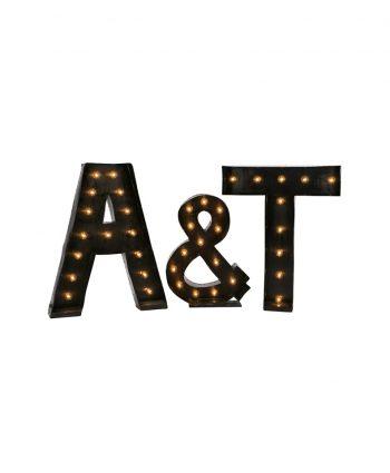 Marque A-Z Letters - A Chair Affair