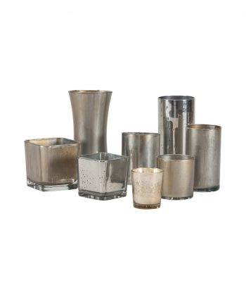 Mercury Glass Votives - A Chair Affair