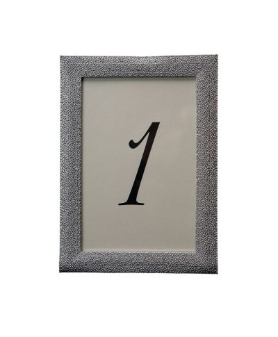 More Sparkle Silver Table Number – A Chair Affair