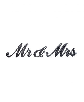 Mr and Mrs Bling Sign - A Chair Affair