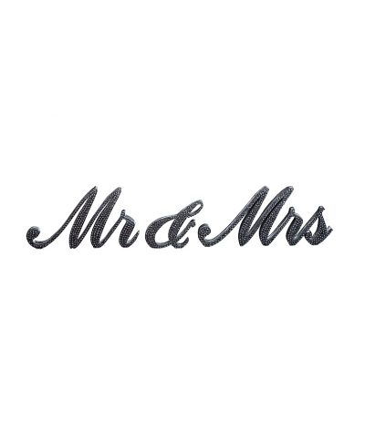 Mr and Mrs Bling Sign – A Chair Affair