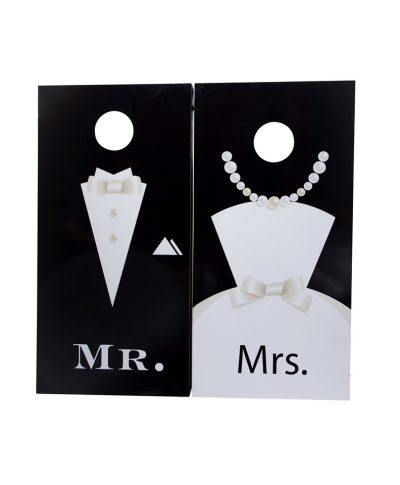 Mr. & Mrs Cornhole Game – A Chair Affair