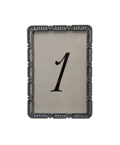Nina Silver Table Number – A Chair Affair