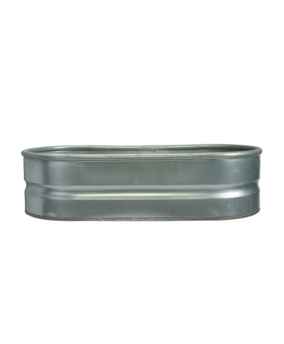 Oval Metal Beverage Tub