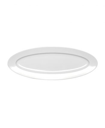 Oval White Serving Platter - A Chair Affair