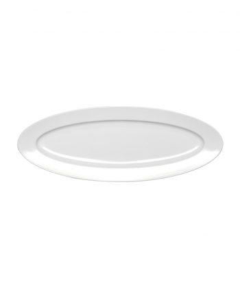 Oval White Serving Platter - A Chair Affair