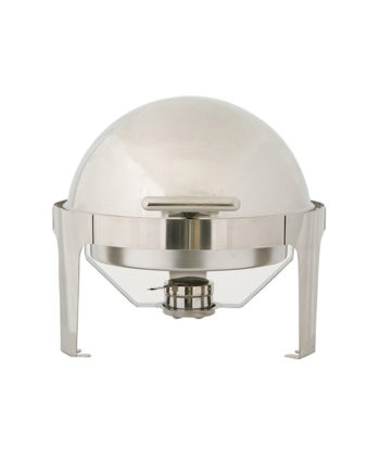Round Chafing Dish Roll Top