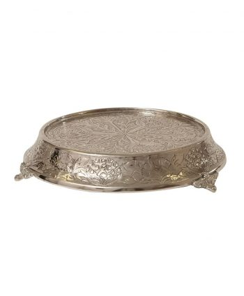 Silver Cake Stand - A Chair Affair