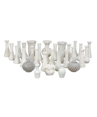 Small Milk Glass Vases – A Chair Affair