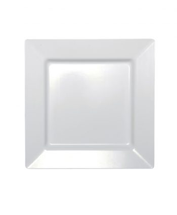 Square White Serving Platter - A Chair Affair