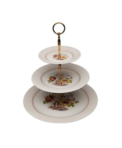 Vintage China 3 Tiered Dessert Stands – A Chair Affair