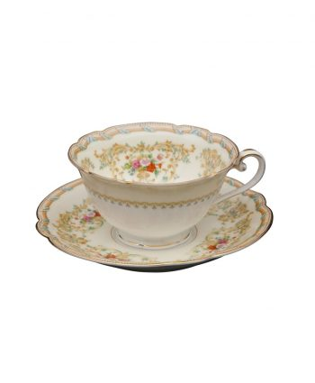 Vintage China Cup and Saucer - A Chair Affair