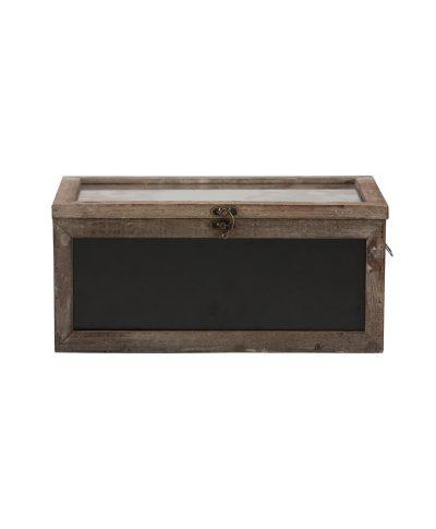 Wood Chalk Board Card Box – A Chair Affair