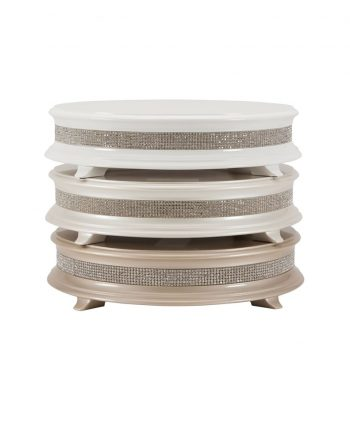 Wood Crystal Cake Stand - A Chair Affair