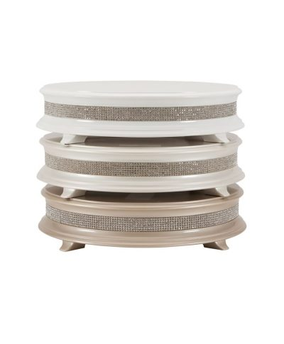 Wood Crystal Cake Stand  – A Chair Affair